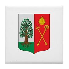 Cute Papal Tile Coaster