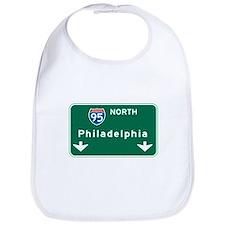 Philadelphia, PA Highway Sign Bib