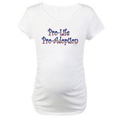 Pro-Life Pro-Adoption Shirt