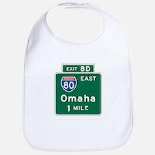 Omaha, NE Highway Sign Bib