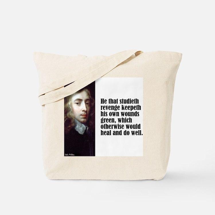 """Milton """"Revenge"""" Tote Bag"""