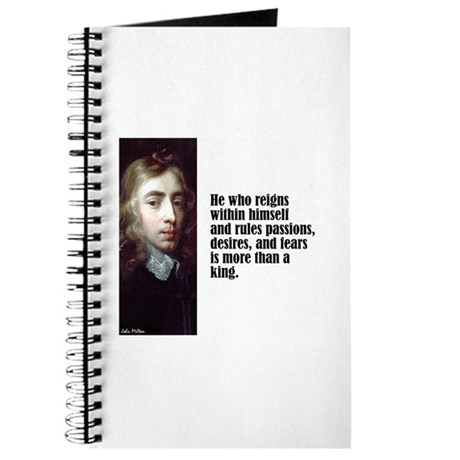 """Milton """"He Who Reigns"""" Journal"""