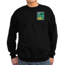 Oakland, CA Highway Sign Sweatshirt