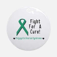 Fight For A Cure! Polycystic Ornament (Round)