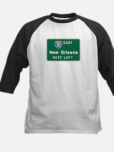 New Orleans, LA Highway Sign Tee
