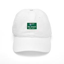 New Orleans, LA Highway Sign Baseball Cap