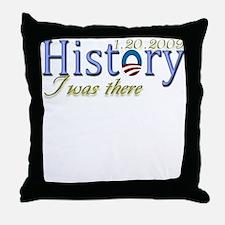 Obama Democrat Historically S Throw Pillow