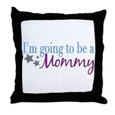 Going to be a Mommy Throw Pillow