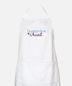 Going to be an Aunt BBQ Apron