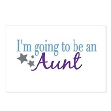 Going to be an Aunt Postcards (Package of 8)