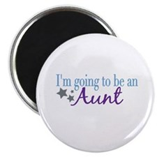"""Going to be an Aunt 2.25"""" Magnet (100 pack)"""