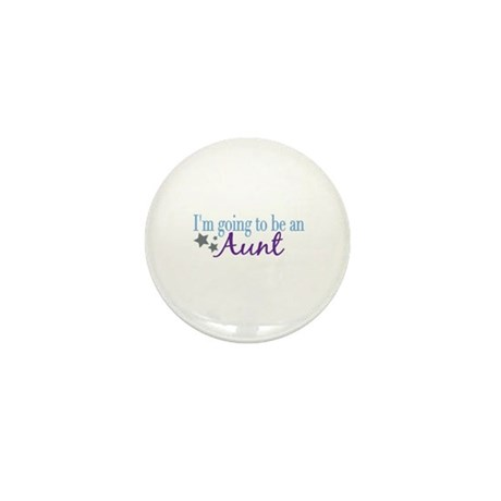 Going to be an Aunt Mini Button (10 pack)
