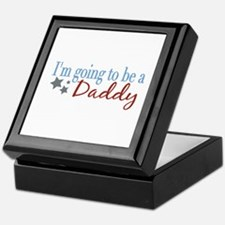 Going to be a Daddy Keepsake Box