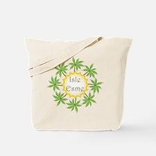 Isle Esme - Palm Trees Tote Bag