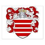 Van Haren Coat of Arms Small Poster