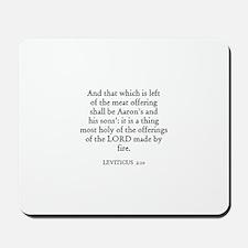 LEVITICUS  2:10 Mousepad