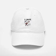 I Love Rock-n-Roll Baseball Baseball Cap