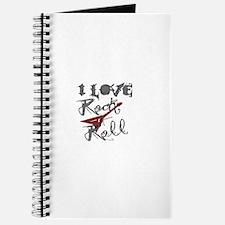 I Love Rock-n-Roll Journal
