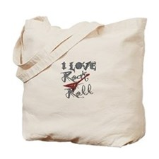 I Love Rock-n-Roll Tote Bag