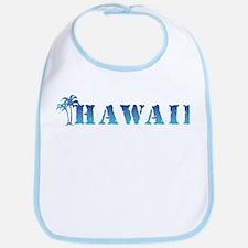 Hawaii - palm trees Bib