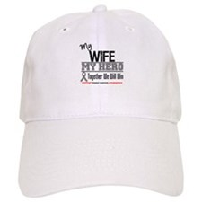 BrainCancerHero Wife Baseball Cap