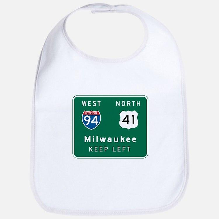 Milwaukee, WI Highway Sign Bib