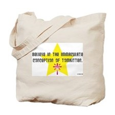 Immaculate Conception of TomK Tote Bag