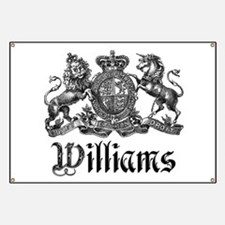 Williams Vintage Crest Family Name Banner