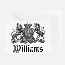 Williams Vintage Crest Family Name Greeting Card