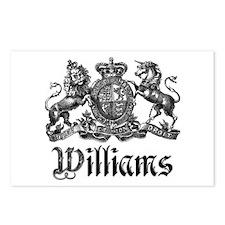 Williams Vintage Crest Family Name Postcards (Pack