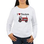 I Love Tractors Women's Long Sleeve T-Shirt