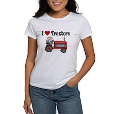 I Love Tractors Tee