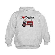 I Love Tractors Hoodie
