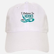 I Believe In Heroes CERVICAL CANCER Hat