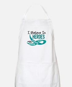 I Believe In Heroes CERVICAL CANCER BBQ Apron