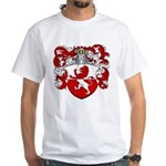 Van Hoven Coat of Arms White T-Shirt