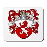 Van Hoven Coat of Arms Mousepad