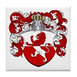 Van Hoven Coat of Arms Tile Coaster