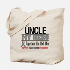 BrainCancerHero Uncle Tote Bag