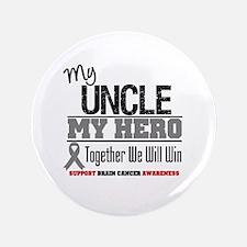 """BrainCancerHero Uncle 3.5"""" Button"""
