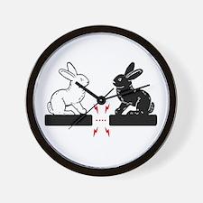 Bunny Love Wall Clock