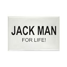 Jack Man Rectangle Magnet