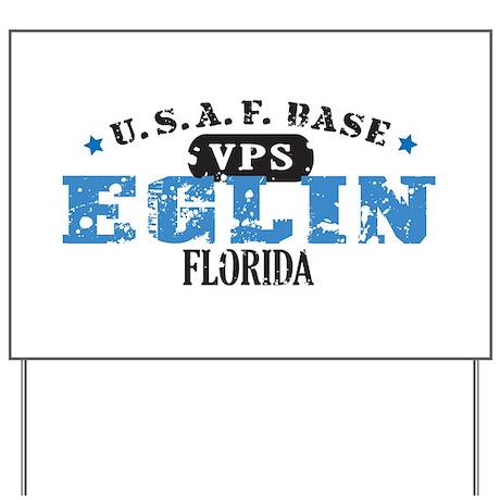 Eglin Air Force Base Yard Sign