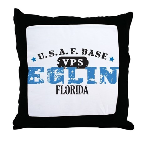 Eglin Air Force Base Throw Pillow