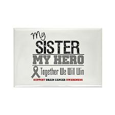 BrainCancerHero Sister Rectangle Magnet (10 pack)
