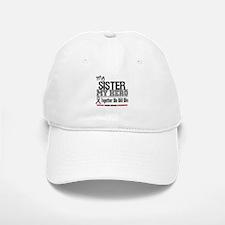 BrainCancerHero Sister Baseball Baseball Cap