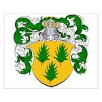 Van Hulst Coat of Arms Small Poster