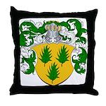Van Hulst Coat of Arms Throw Pillow