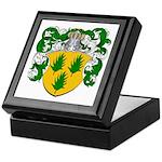 Van Hulst Coat of Arms Keepsake Box