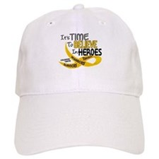 Time To Believe CHILDHOOD CANCER Baseball Cap